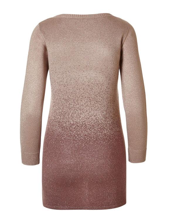 Pink Ombre Lurex Sweater, Pink, hi-res