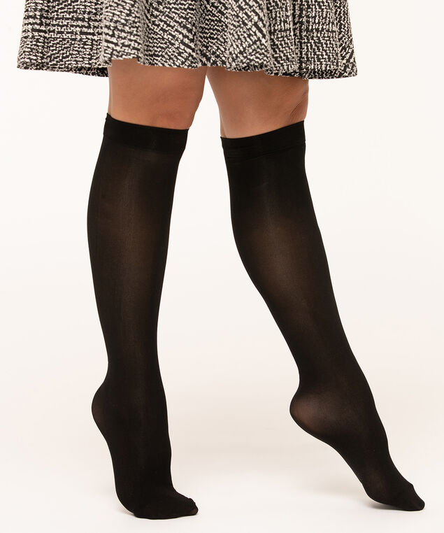 Black Trouser Sock , Black, hi-res
