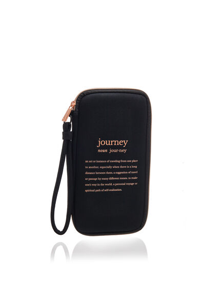 Travel Document Caddy, Black, hi-res