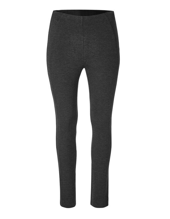 Charcoal Basic Legging, Charcoal, hi-res