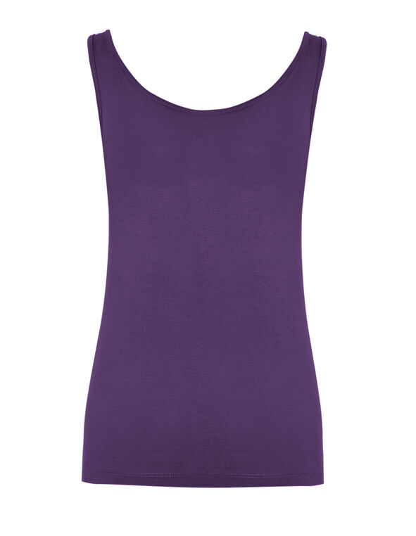 Dark Purple Universal Layering Cami, Dark Purple, hi-res