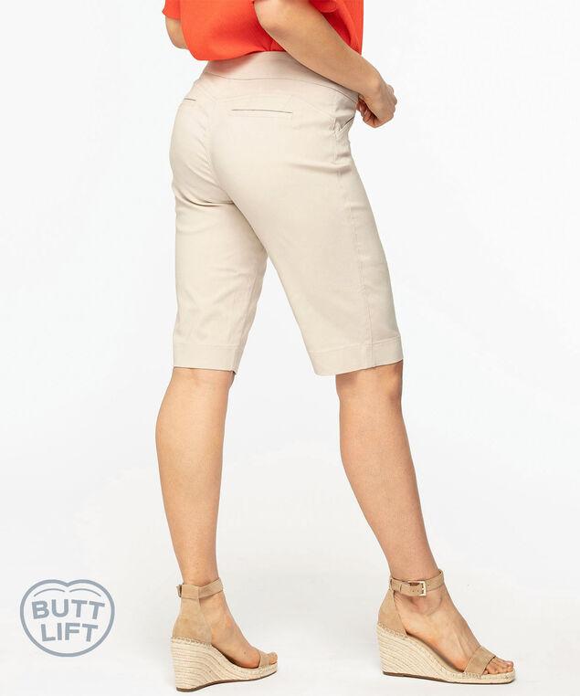 Pull On Butt Lift Short, Tan