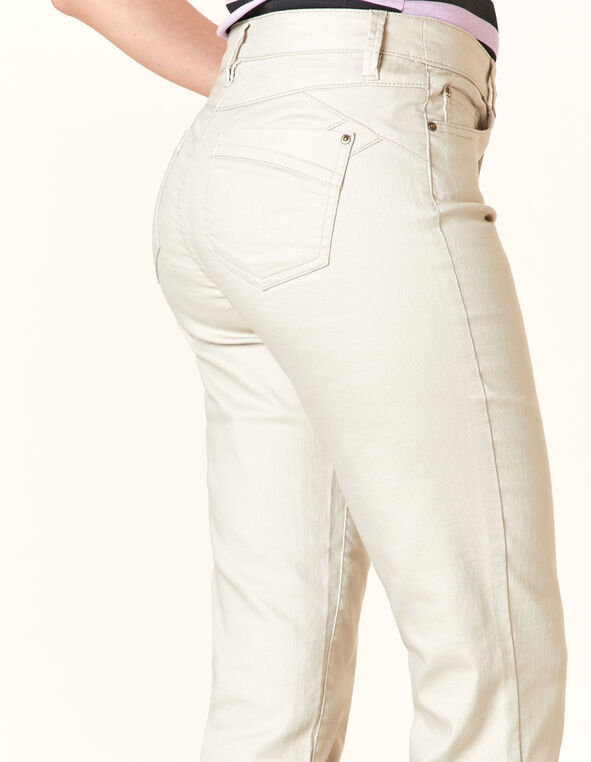Stone Butt Lift Slim Jean, Neutral/Stone, hi-res