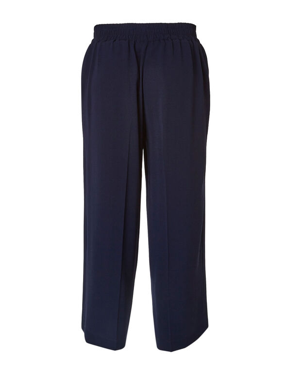 Navy Soft Ankle Pant, Navy, hi-res