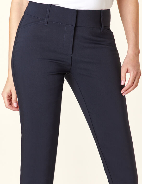 Navy Slim Leg Ankle Pant, Navy