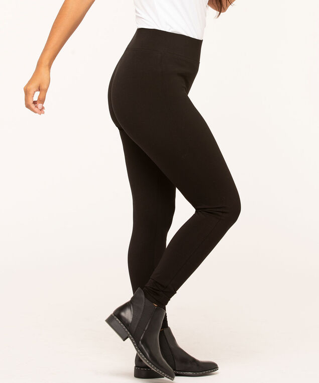Black Knit Legging, Black, hi-res