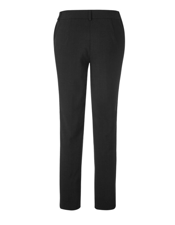 Black Curvy Favourite Slim Pant, Black, hi-res
