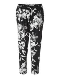 Floral Soft Ankle Pant