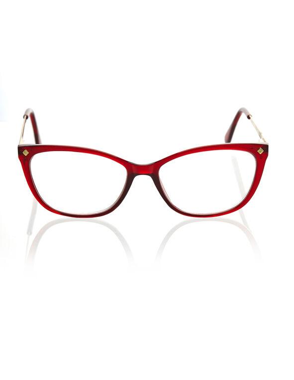 Red Cat Eye Reader, Red, hi-res