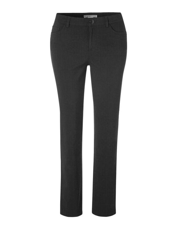 Long 5 Pocket cleo Signature Pant®, Gunmetal, hi-res