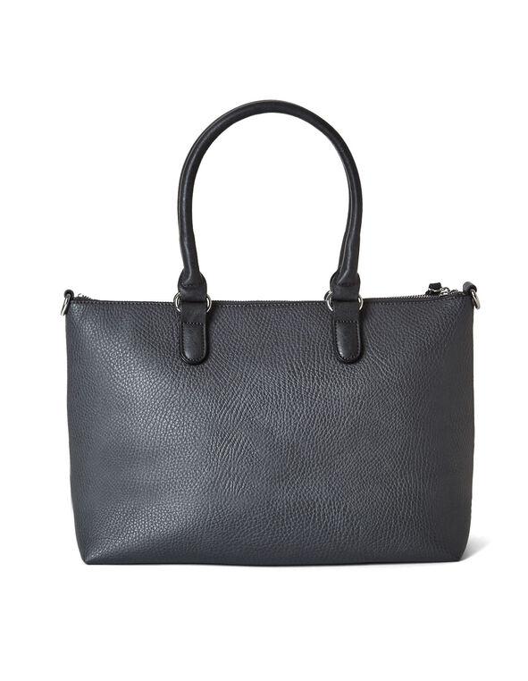 Grey Tote Handbag, Grey, hi-res