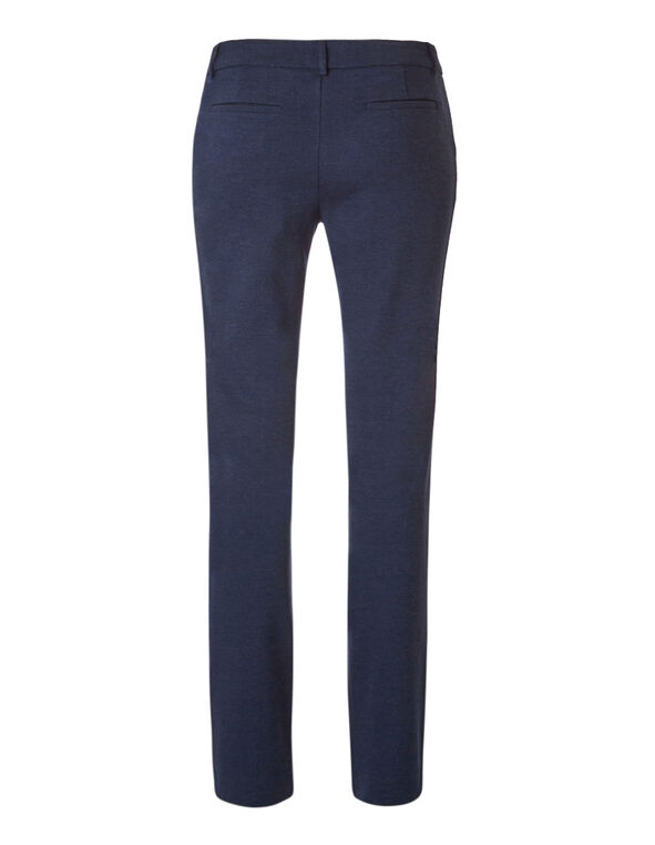 Navy Comfort Stretch Pant, Navy, hi-res