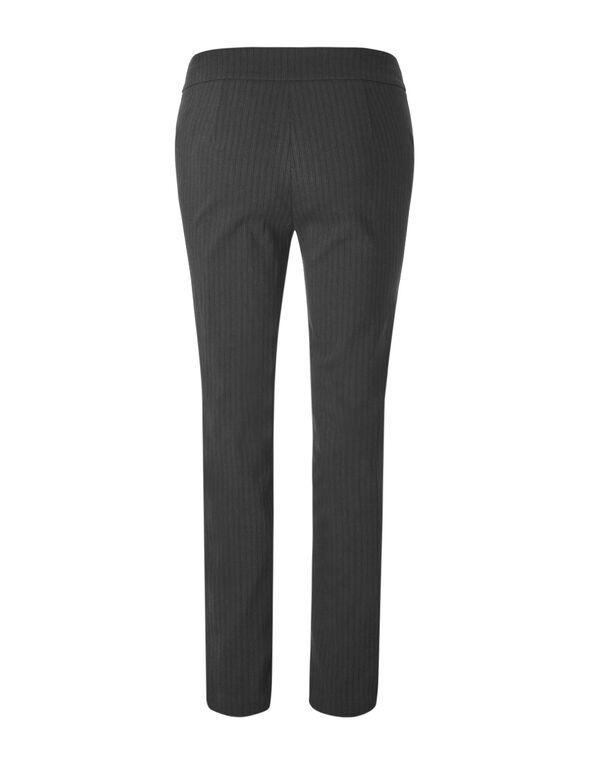 Cleo Signature Stripe Pant, Grey/Black, hi-res