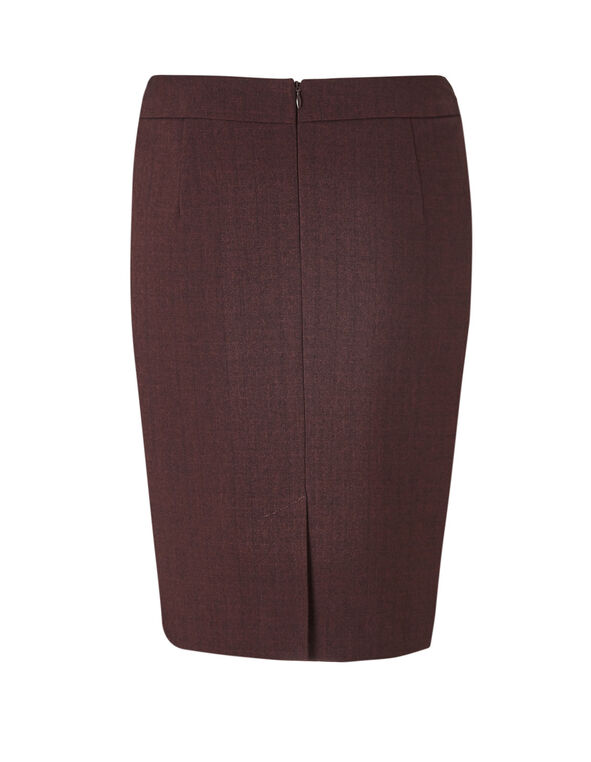 Brick Favourite Pencil Skirt, Brick, hi-res