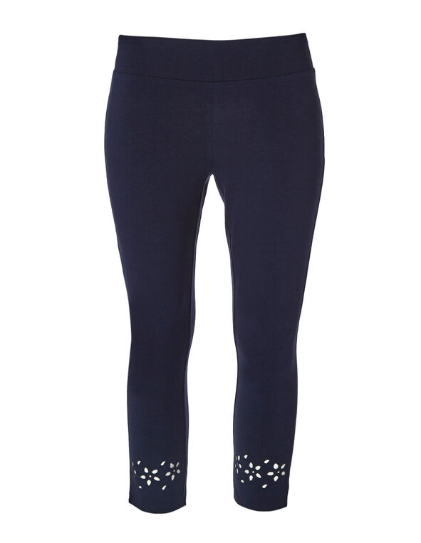 Navy Cotton Legging, Navy, hi-res