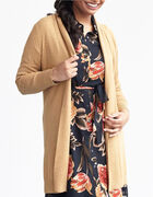 Camel Recycled Fabric Cardigan, Camel, hi-res