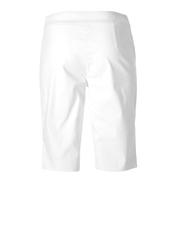 White Pull On Short, White, hi-res
