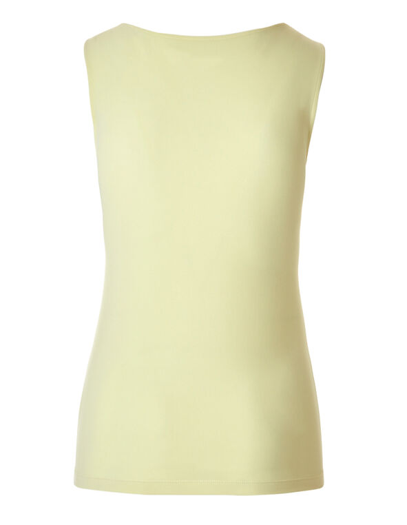 Yellow Essential Layering Top, Yellow, hi-res