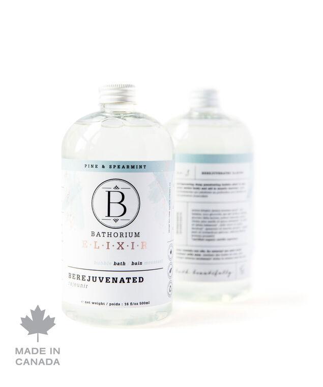 BeRejuvenated Bubble Elixir, White