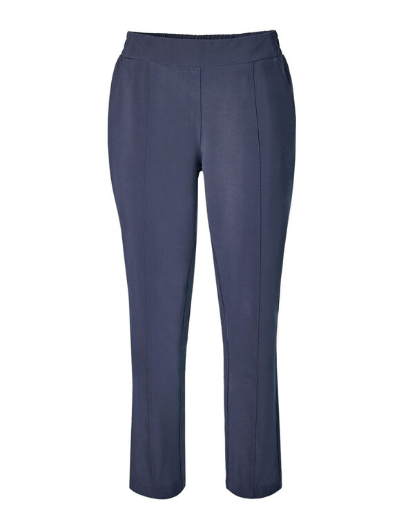 Blue On The Go Ankle Pant, Med Blue, hi-res