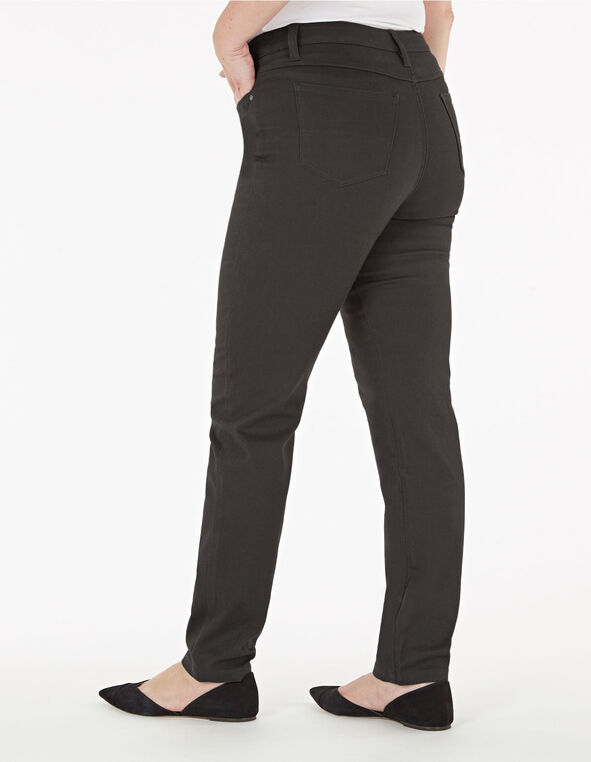 Gunmetal Slim Leg Jean, Gunmetal, hi-res