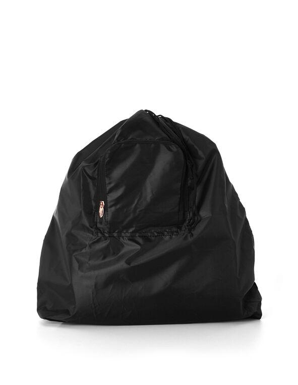 Travel Laundry Bag, Black, hi-res
