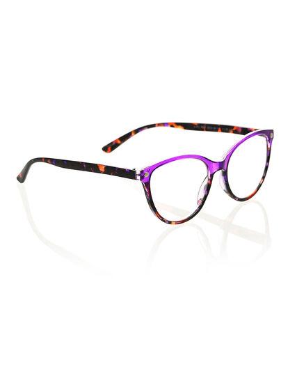 Transparent Purple Reader, Purple, hi-res