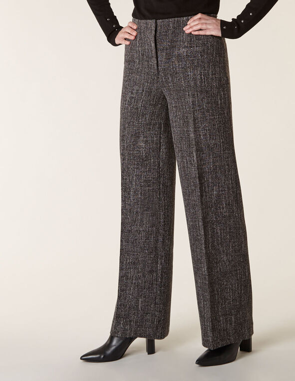 Salt & Pepper Trouser Pant, Black, hi-res