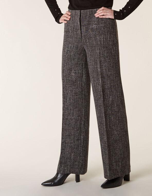 Salt & Pepper Trouser Pant, Black, hi-res