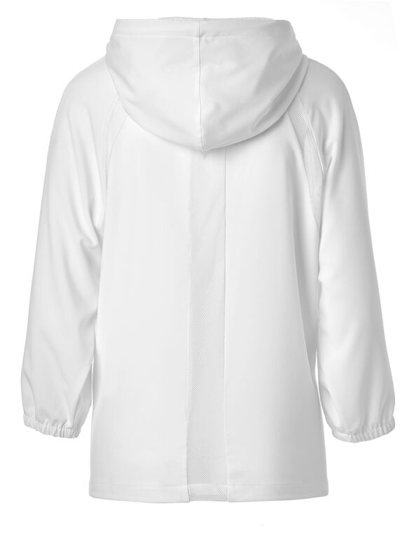 White Mesh Jacket, White, hi-res