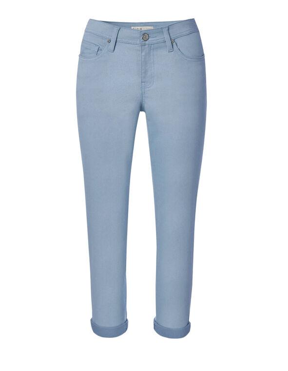 Blue Slim Ankle Jean, Blue, hi-res