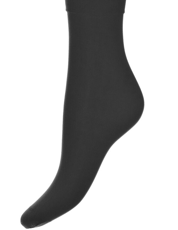 Black Trouser Sock, Black, hi-res