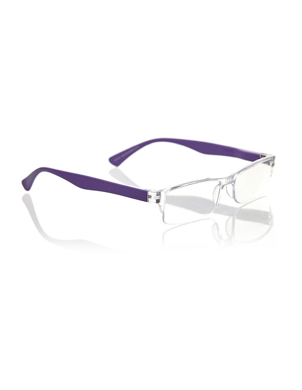 Purple Frame-Less Reader, Purple, hi-res