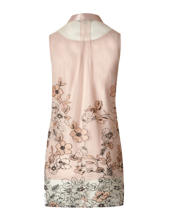 Misty Rose Embroidered Tunic, Misty Rose, hi-res