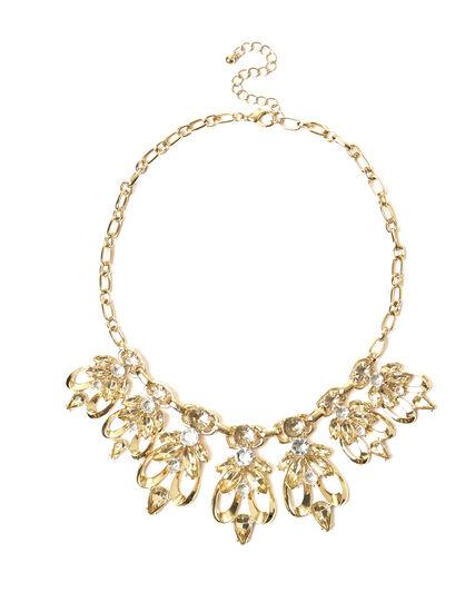 Gold Statement Necklace, Gold, hi-res