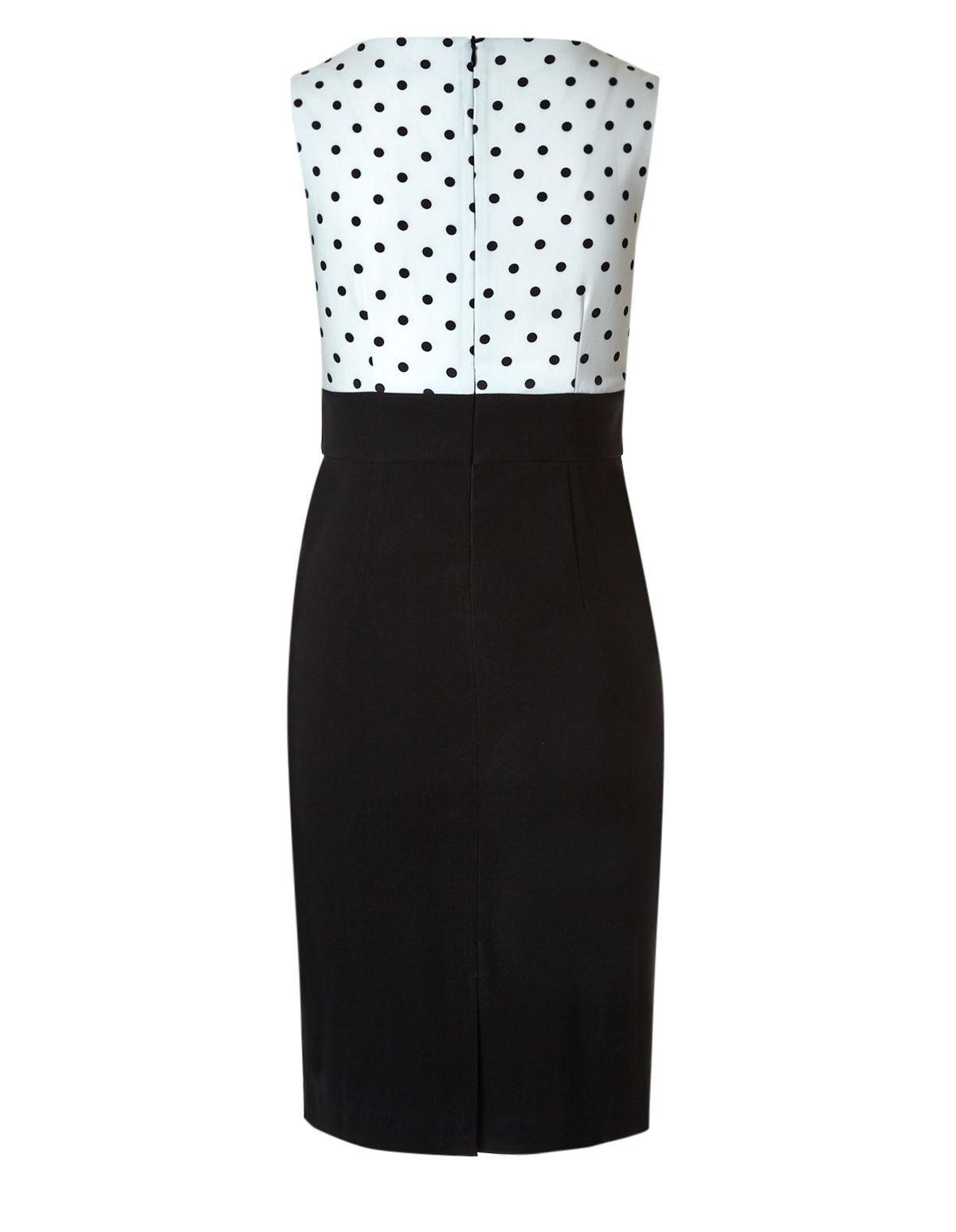 Black and White Store Dresses