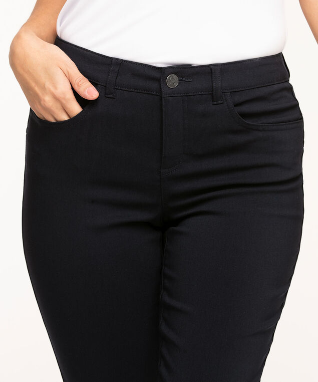 Navy Curvy Butt Lift Ankle Pant, Navy