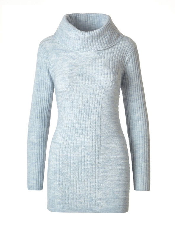 Cloud Rib Knit Cowl Neck Sweater, Cloud, hi-res