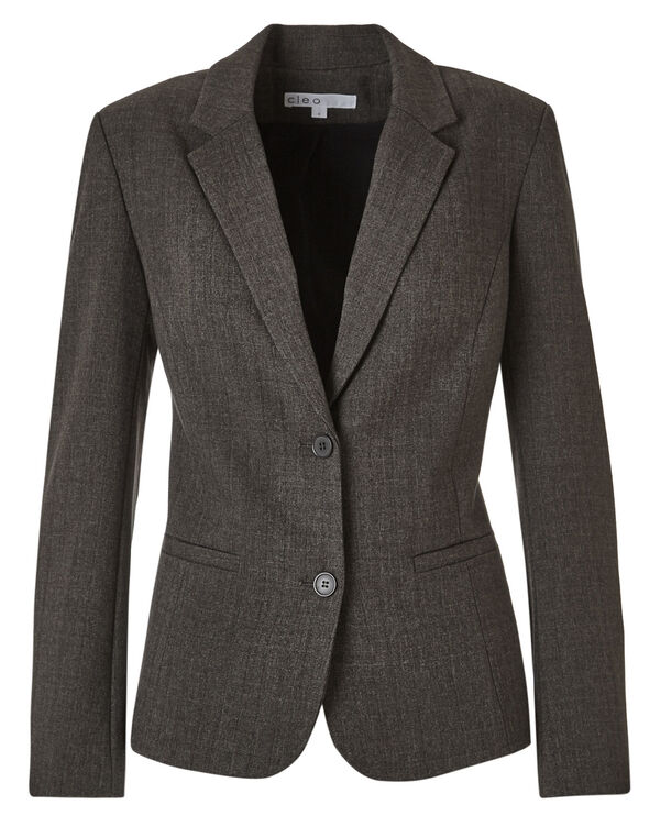 Brown Favourite Blazer, Brown, hi-res