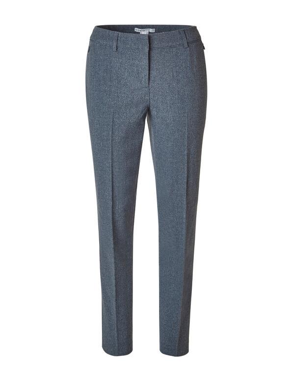 Grey Slim Leg Pant, Grey, hi-res