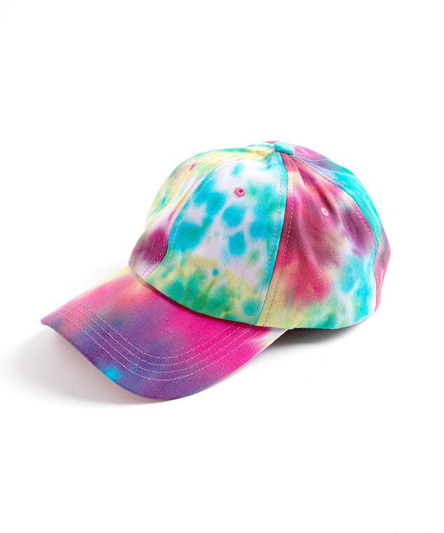 Tie-Dye Baseball Cap, Pink