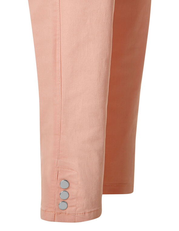 Light Apricot Ankle Jean, Light Apricot, hi-res