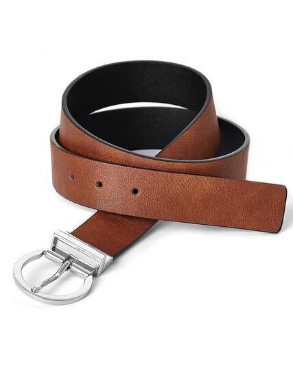 Black & Brown Reversible Belt, Black/Brown, hi-res