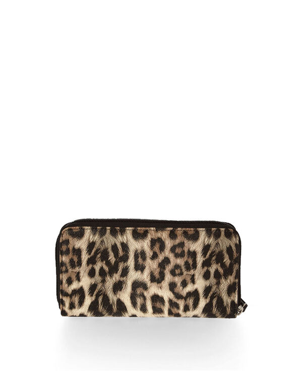 Animal Print Wallet, Novelty, hi-res