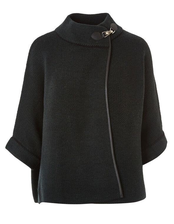 Spruce Sweater Coat, Dark Green, hi-res