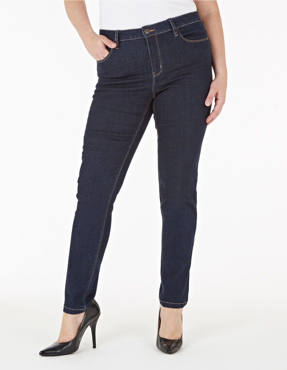 Dark Wash Slim Leg Jean, Dark Wash, hi-res