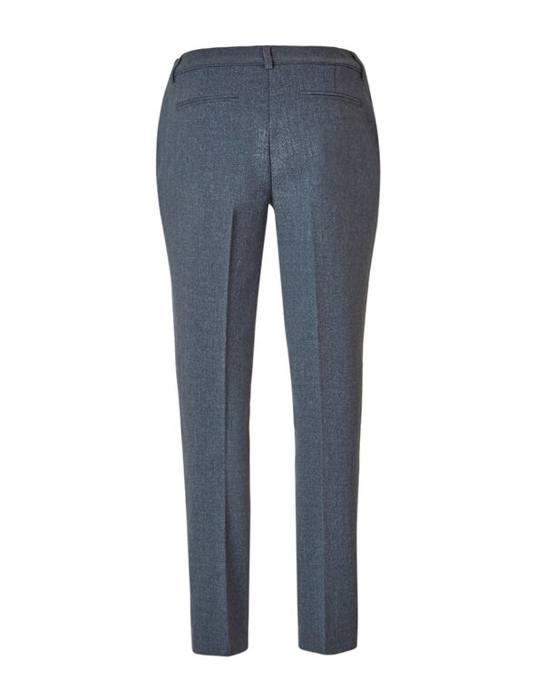 Grey Slim Leg Pant, Grey, hi-res