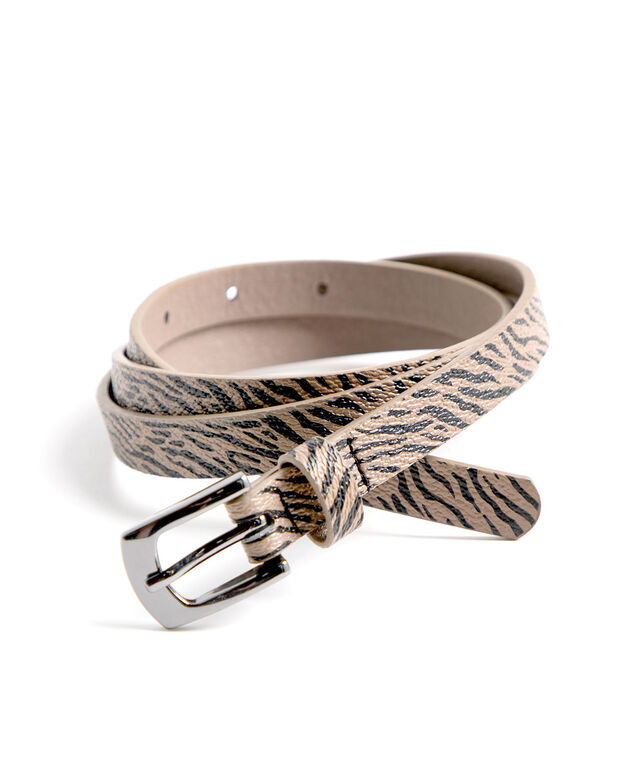 Animal Print & Gold Belt Set, Animal Print/Gold
