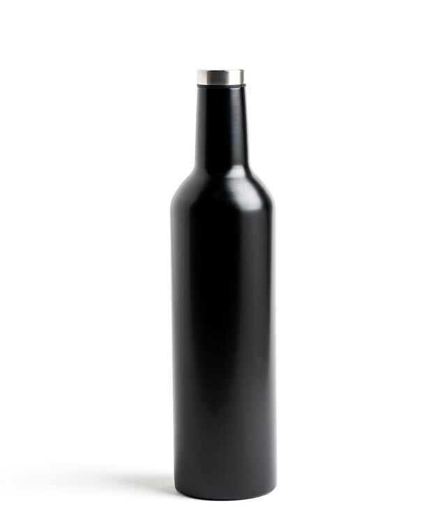 Insulated Wine Thermos, Black