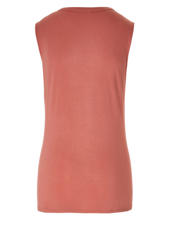 Apricot Sleeveless Top, Apricot, hi-res